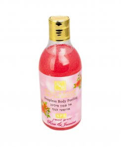 Body Peeling Såpeløs Rose og Jasmin 250ml