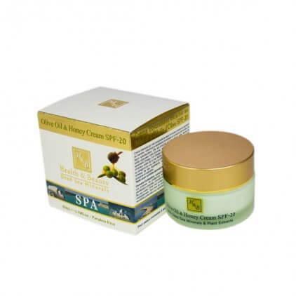 Ansiktskrem Olivenolje og Honning 50ml