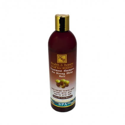 Shampo 400ml Aragan olje